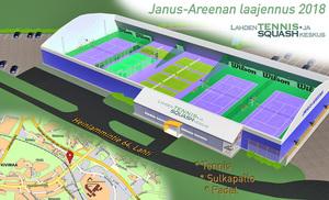 Janus Areena 2018 laajennus